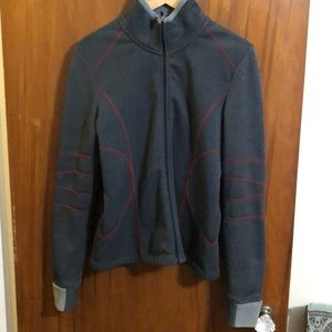 JACKET Athleta M fleece interior neoprene exterior